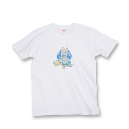 ニャーおっさん Tシャツ 1